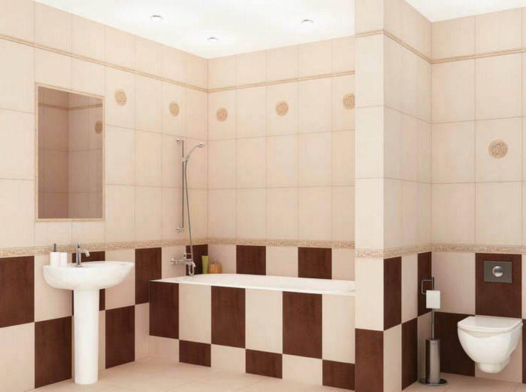 Примеры модной плитки для маленькой ванной комнаты 2020-2021: 50 фото