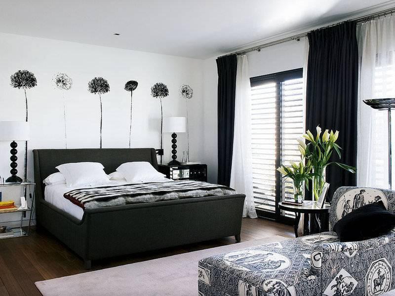 Черная спальня: 50+ фото, лучшие идеи дизайна
