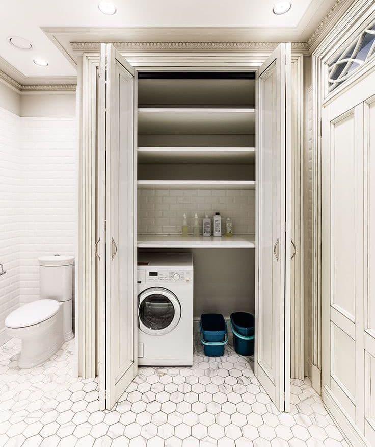 Шкафы в ванной комнате: самые интересные идеи и полезные советы.