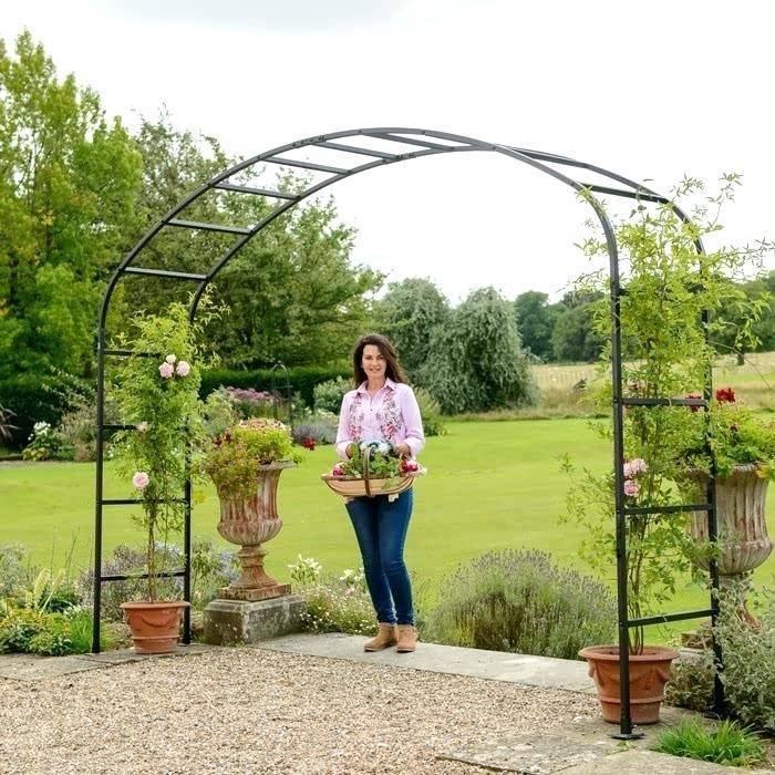 Арки для роз в саду в ландшафтном дизайне: какую лучше выбрать, как оформить и украсить