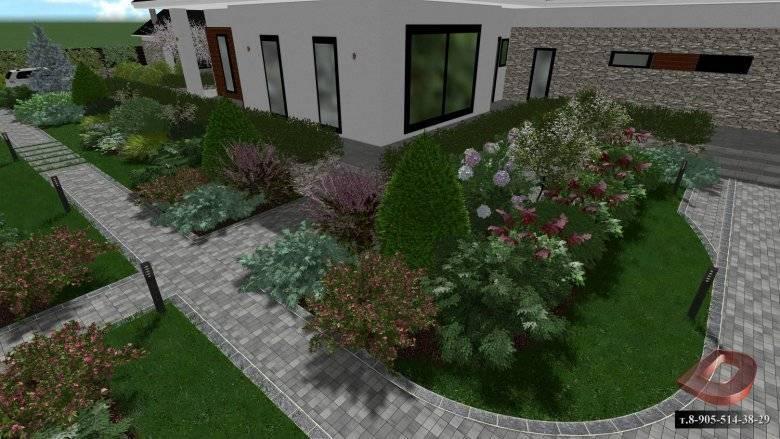Ландшафтный дизайн участка размером 15 соток (63 фото): проекты и схема вариантов планировки участка с домом, баней и гаражом