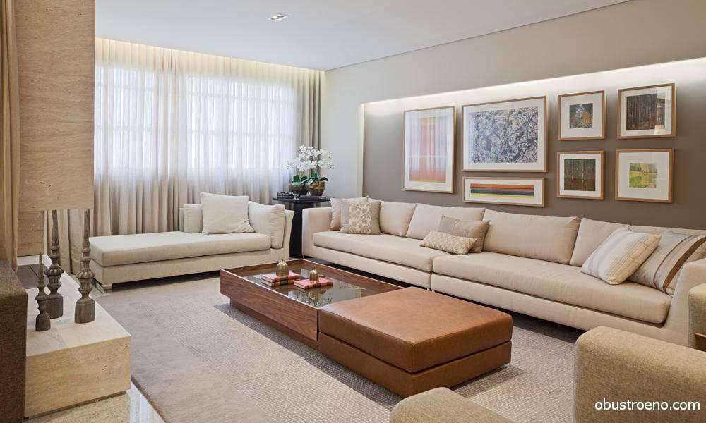 Мягкая мебель для гостиной: модные тенденции и правила выбора