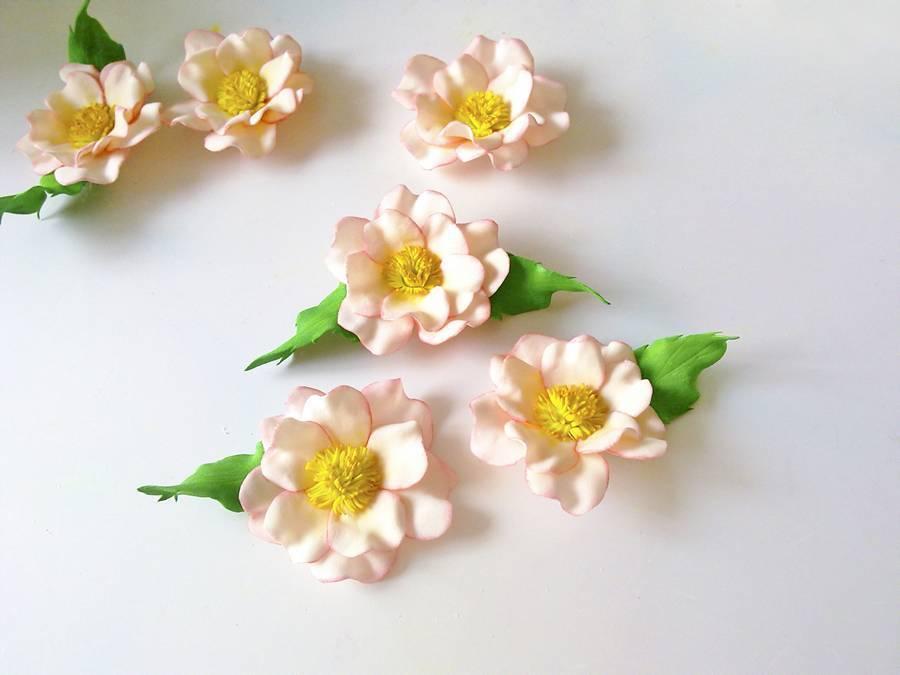 Цветы из фоамирана своими руками: лучшие мастер-классы