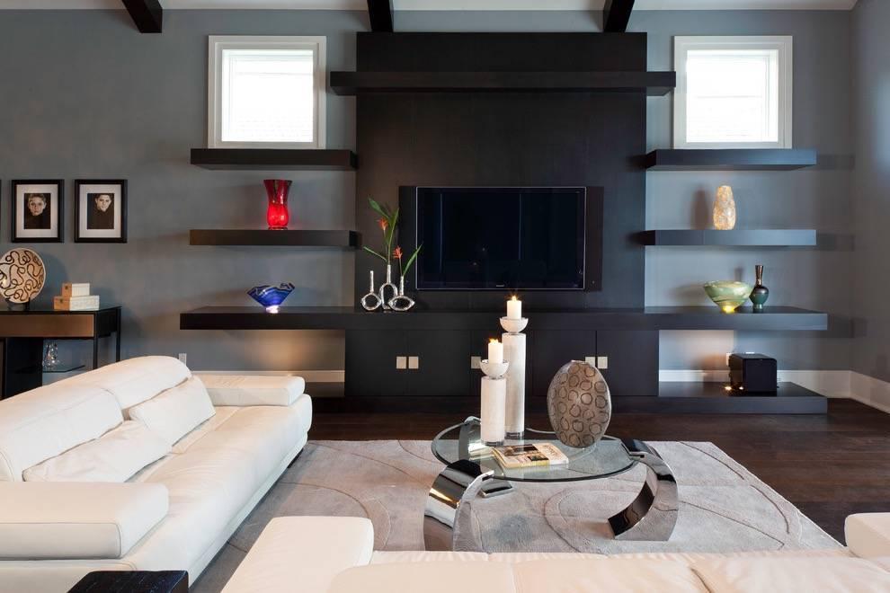 Перегородка в гостиной: 100 фото красивых идей - дизайн интерьера