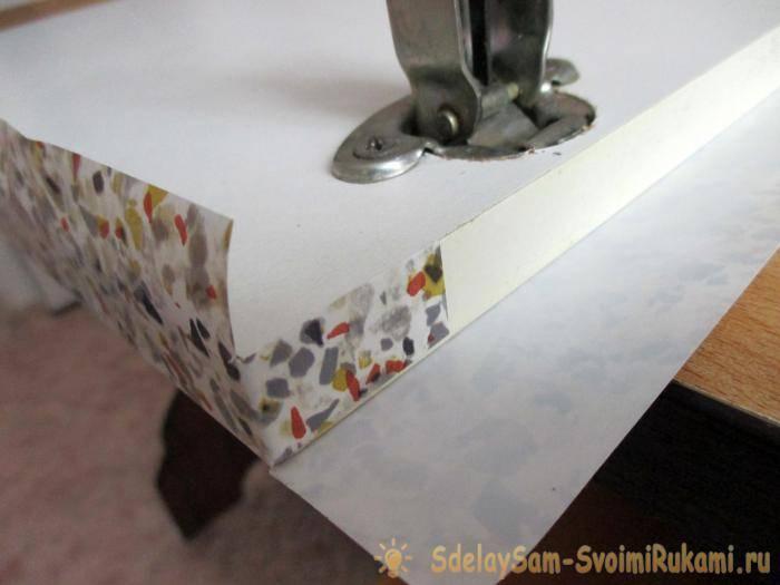 Как правильно обклеить мебель самоклеющейся пленкой