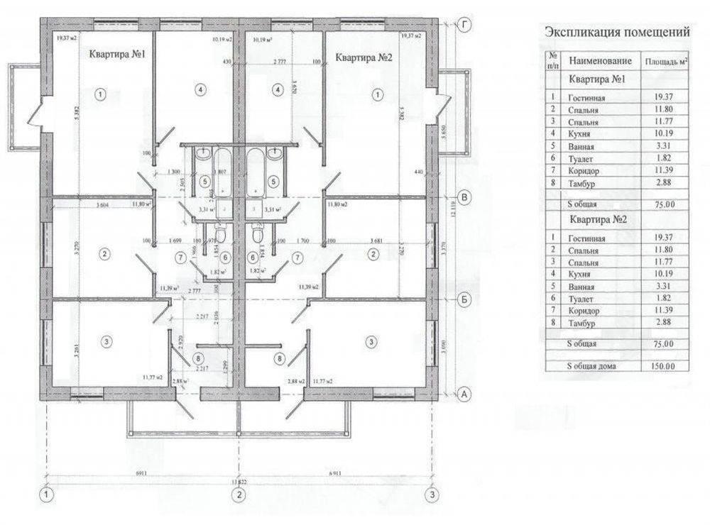 Экспликация помещений, поэтажный план квартиры из бти: что это такое, как и где получить, госты | partner-tomsk.ru