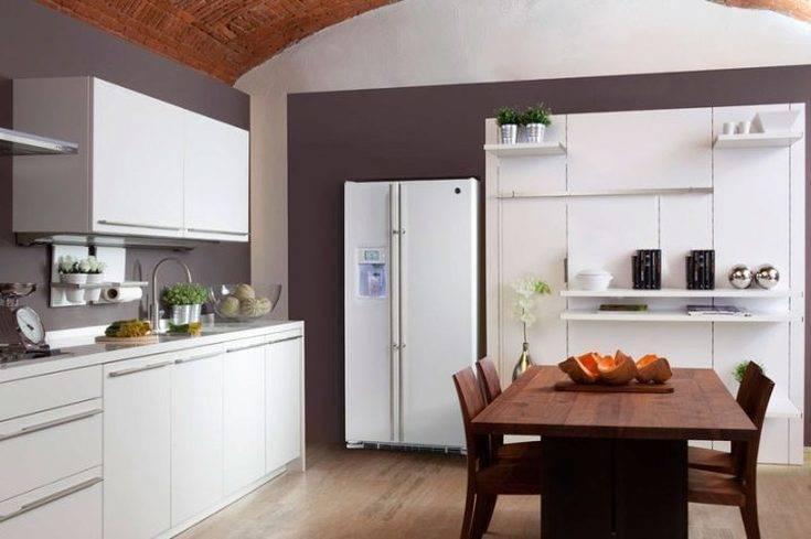 Холодильник на кухне - правила идеального размещения (80 фото идей)