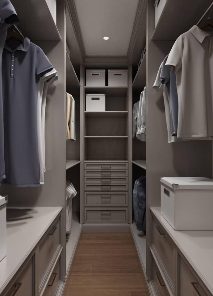 Гардеробная комната - 70 фотографий с идеями по обустройству