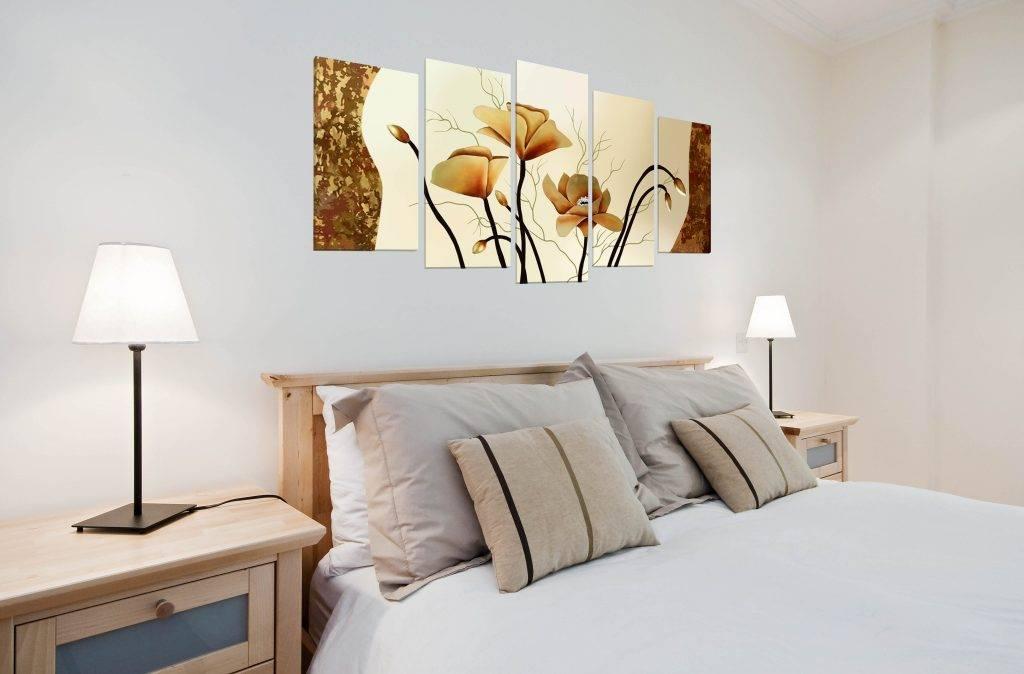 Выбираем картины для спальни: лучшие идеи для декорирования стен