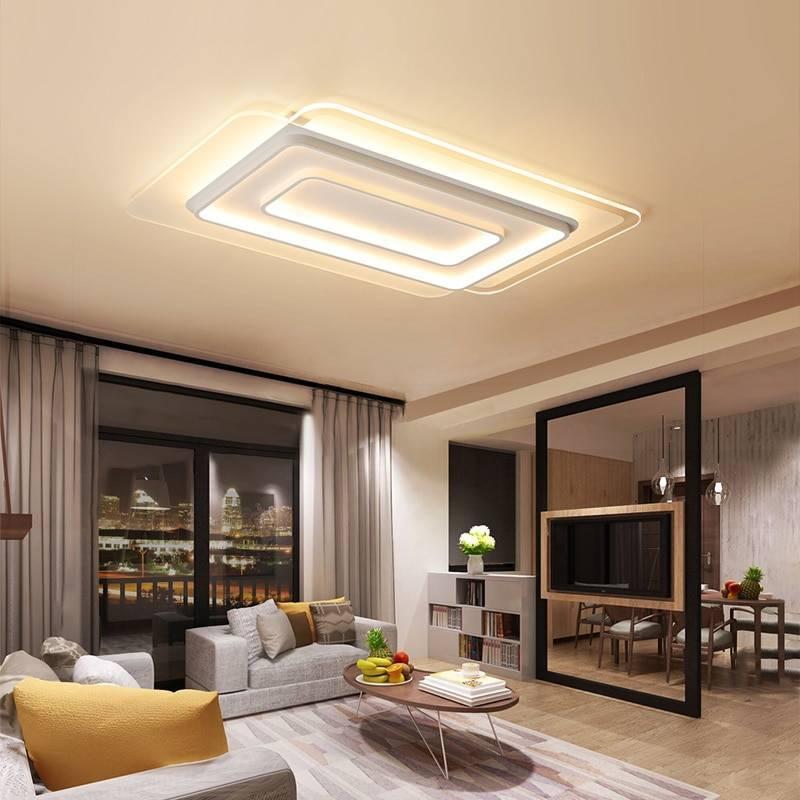 Гостиная комната — основные правила и виды освещения