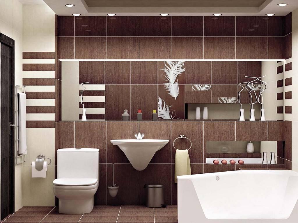 Дизайн коричневой ванной комнаты: от темных тонов до кофе с молоком