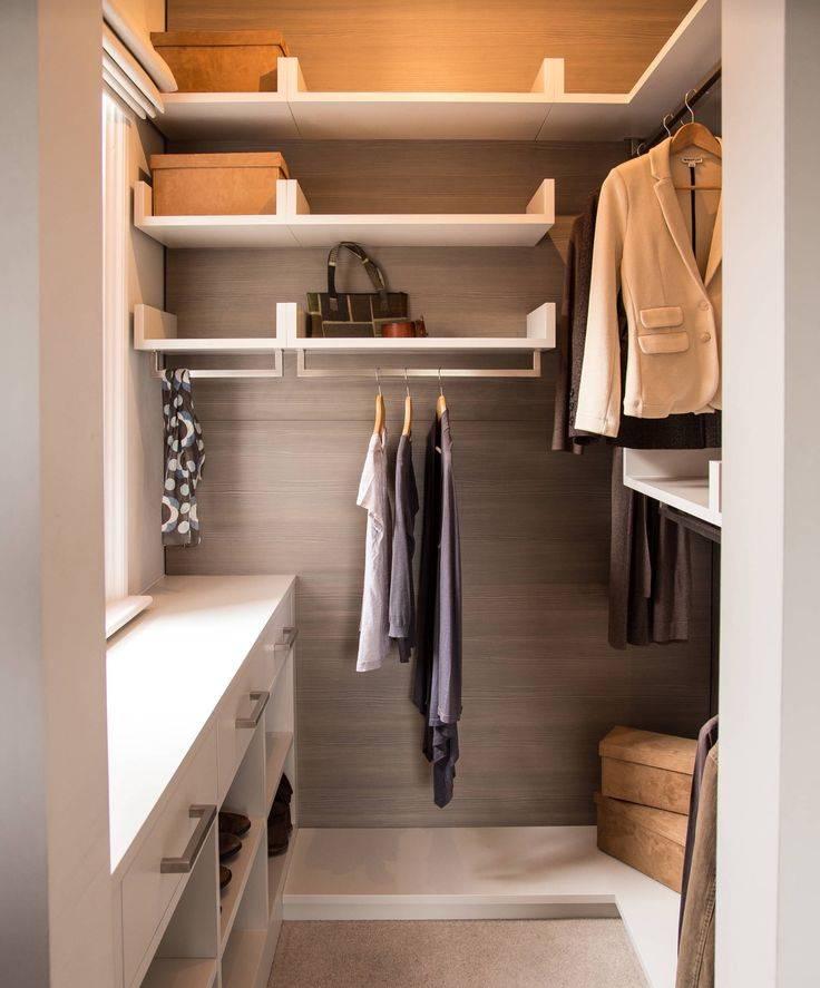 Как сделать гардеробную комнату из кладовки