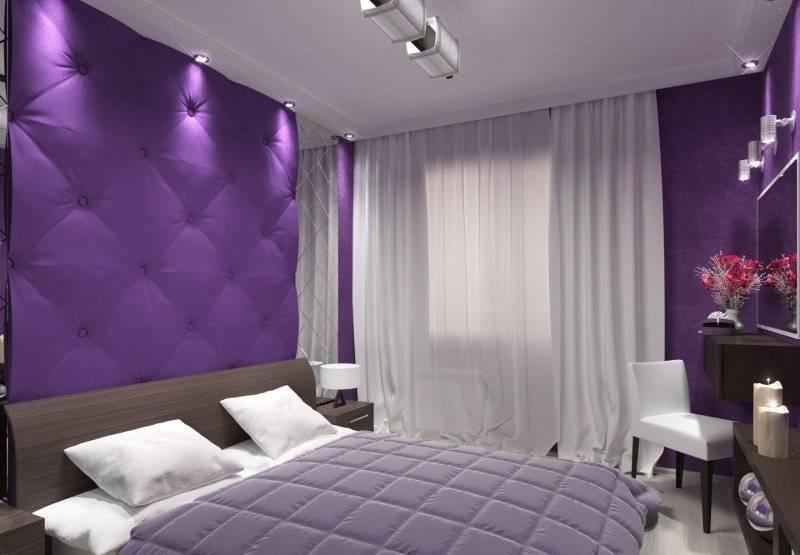 Сиреневая ванная комната: дизайн с цветами - 28 фото