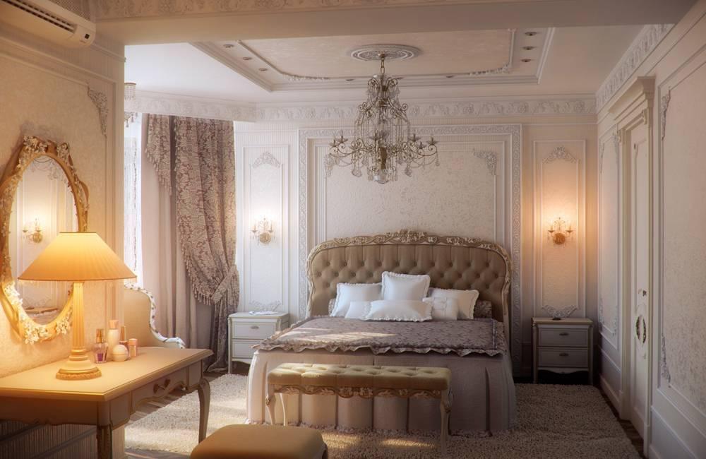 Красивые спальни - 175 фото с идеями для дизайна интерьера