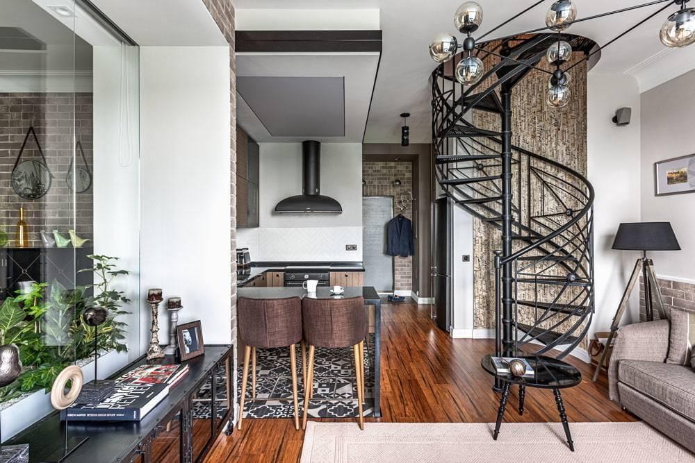 Шикарные двухуровневые квартиры: 70 фото среальными примерами