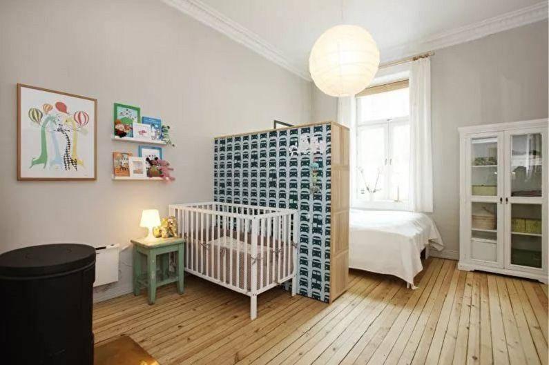 Спальня и детская в одной комнате: создаём удобство и уют