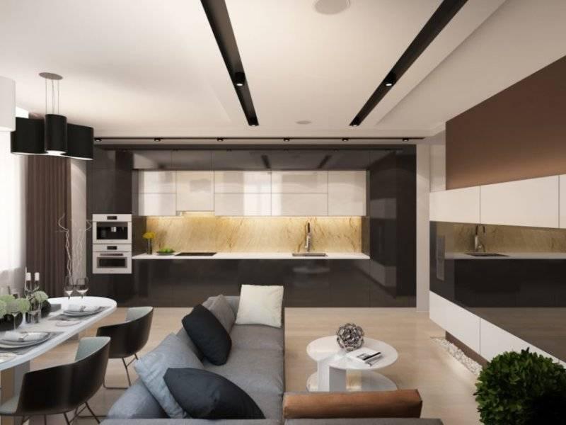 Кухня-гостиная 16 квадратов: идеи планировки и варианты дизайна