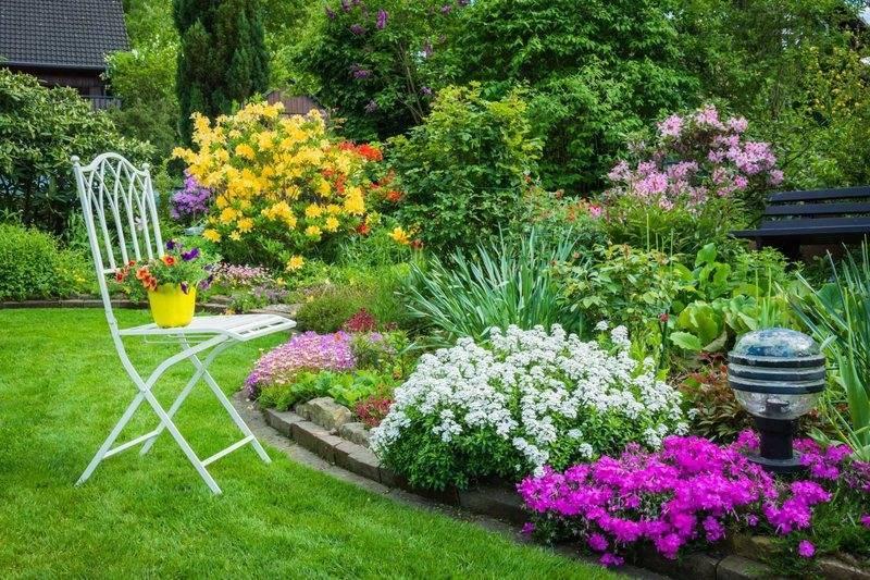 Как украсить сад: фото украшений для сада своими руками, идеи для оформления сада