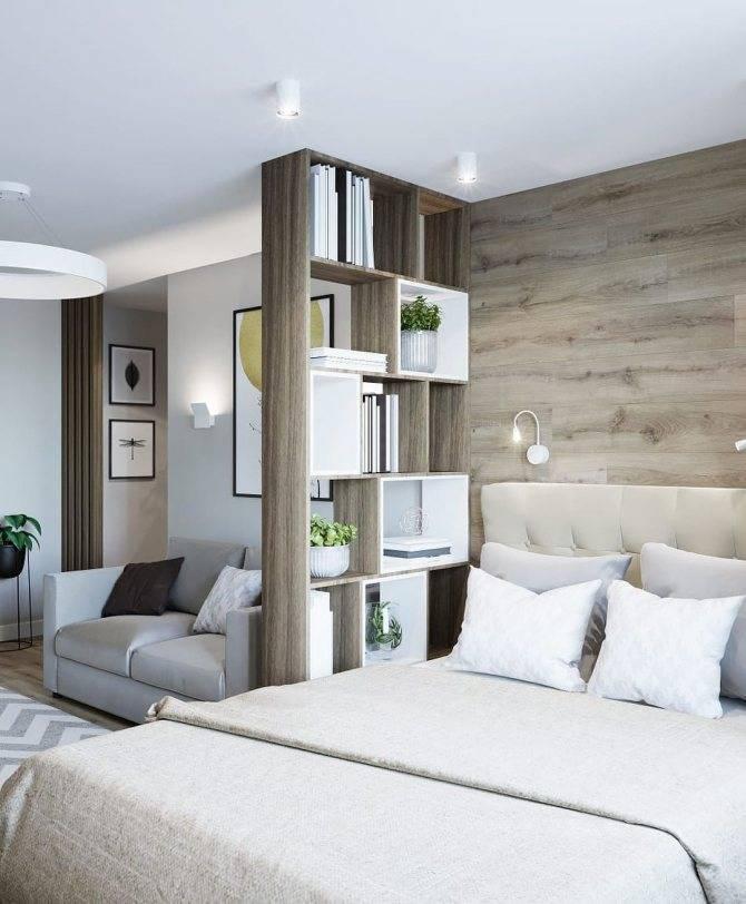 Спальня с диваном вместо кровати: фото, особенности, оформление