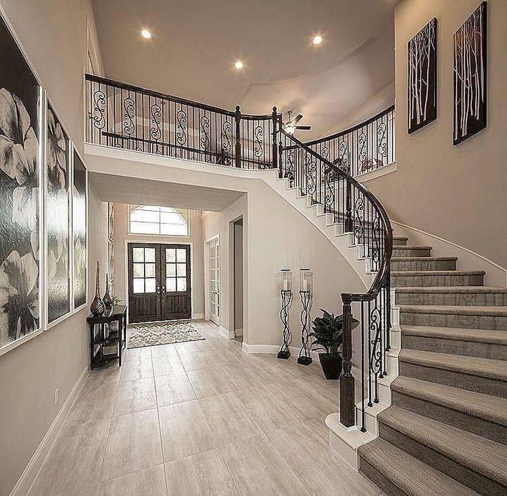 Дизайн холла в доме - фото,своими руками, описание