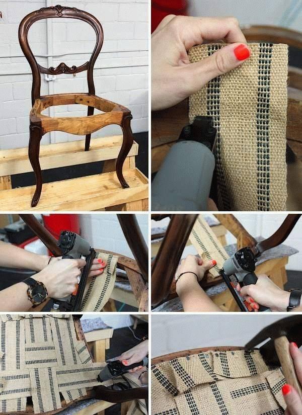 Как перетянуть кресло своими руками пошагово – простой мастер-класс