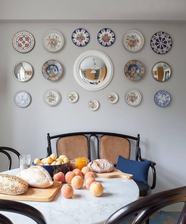 Неповторимые украшения для кухни: декорирование тарелок своими руками