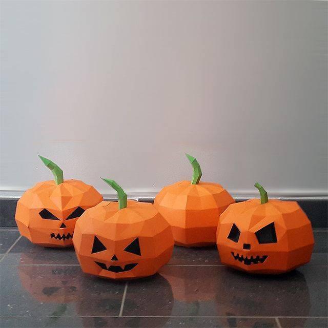 Тыква на хэллоуин своими руками + фото идеи к празднику