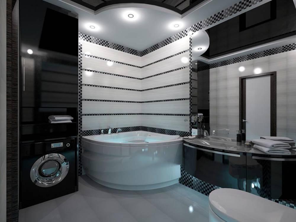 40 вариантов дизайна плитки в ванной