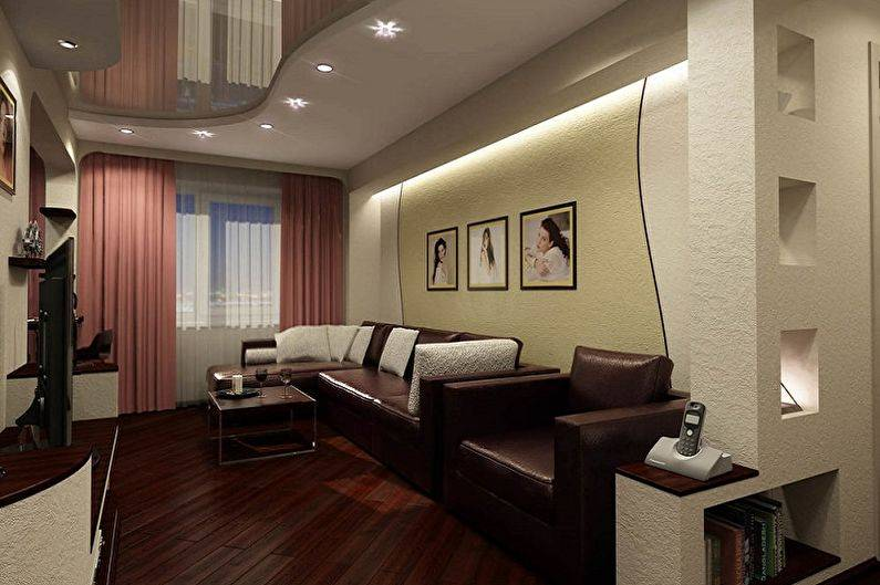Удобные гостиные 4 метра: 5 правил обустройства