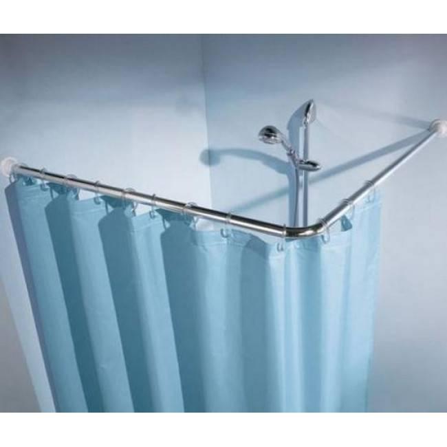 Карниз для ванной: г-образный, угловой, телескопический, гибкий, как выбрать и установить своими руками