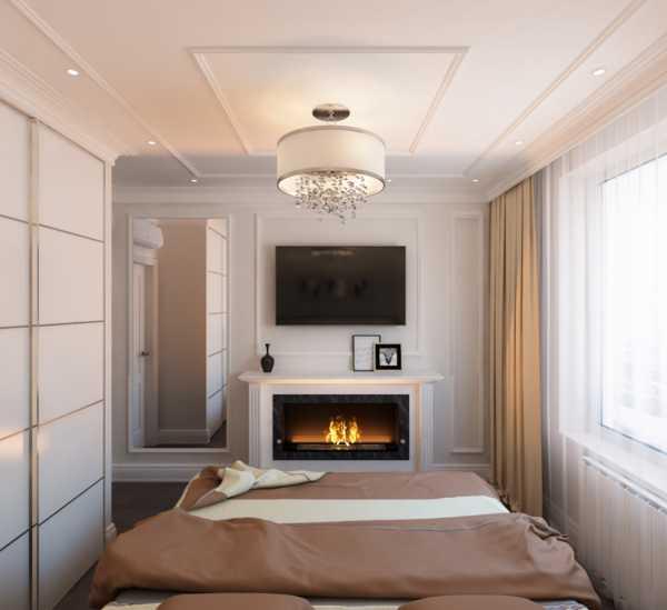 Камин в спальне: создаем теплый и уютный интерьер