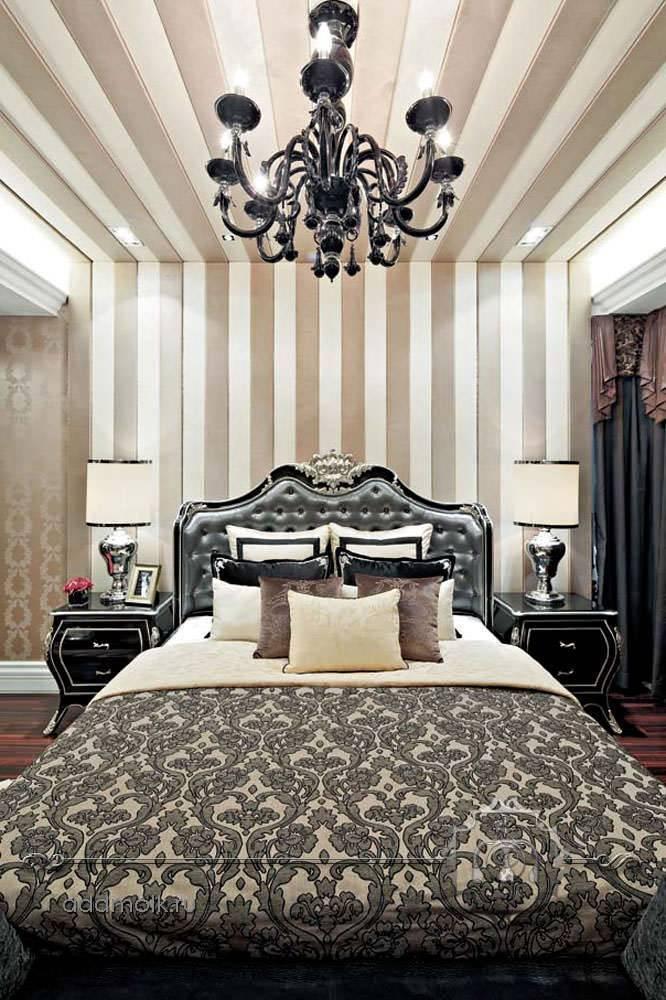 Спальня в стиле арт-деко - обзор лучших фото примеров современного дизайна