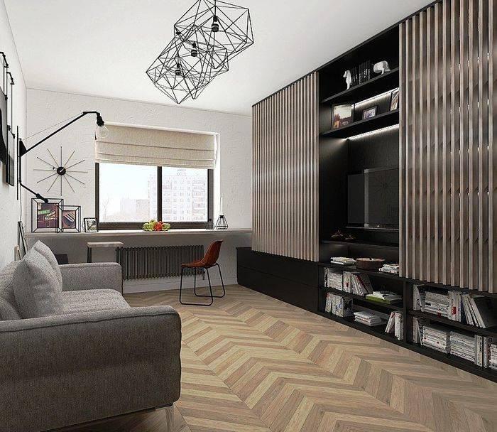 Фото дизайна интерьера холостяцкой квартиры