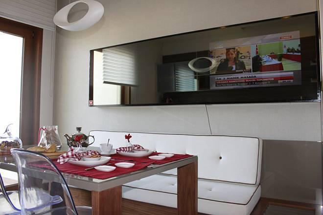 Дизайн кухни с телевизором: варианты размещения и готовые идеи дизайна (50 фото) | современные и модные кухни