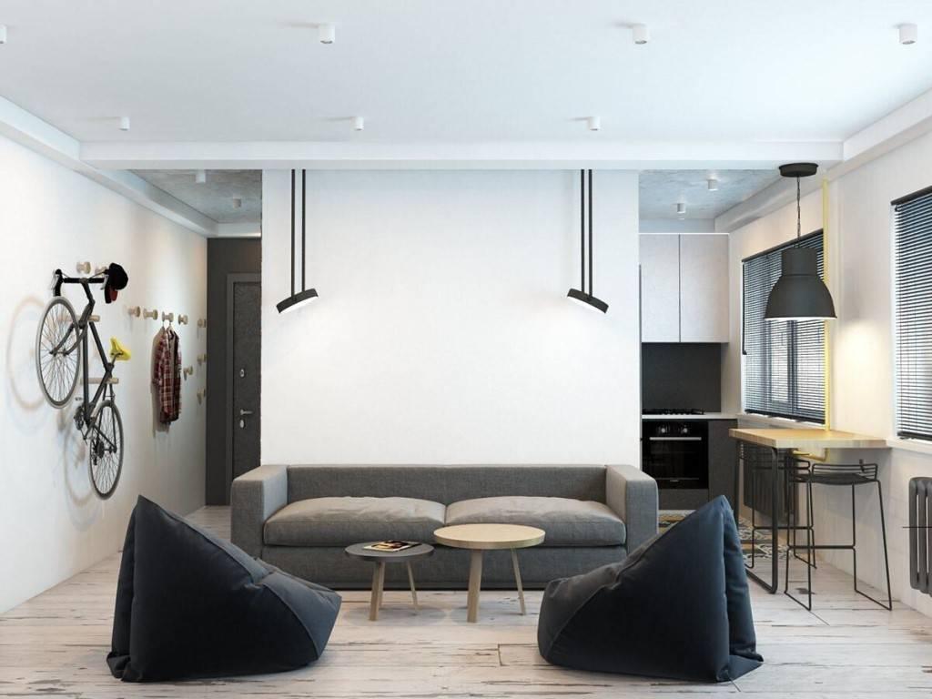 Дизайн 2х комнатной хрущевки — перепланировка и интерьер