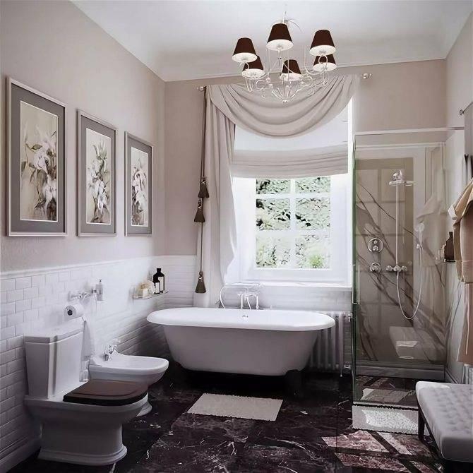 Ванная с окном — 120 фото лучших решений и особенностей оформления ванной комнаты