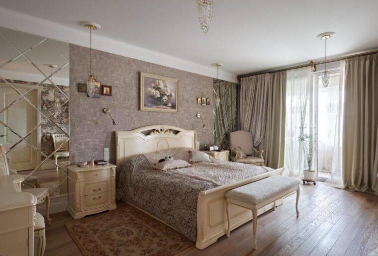 Спальня неоклассика: планирование и организация пространства в неоклассическом стиле (100 фото)