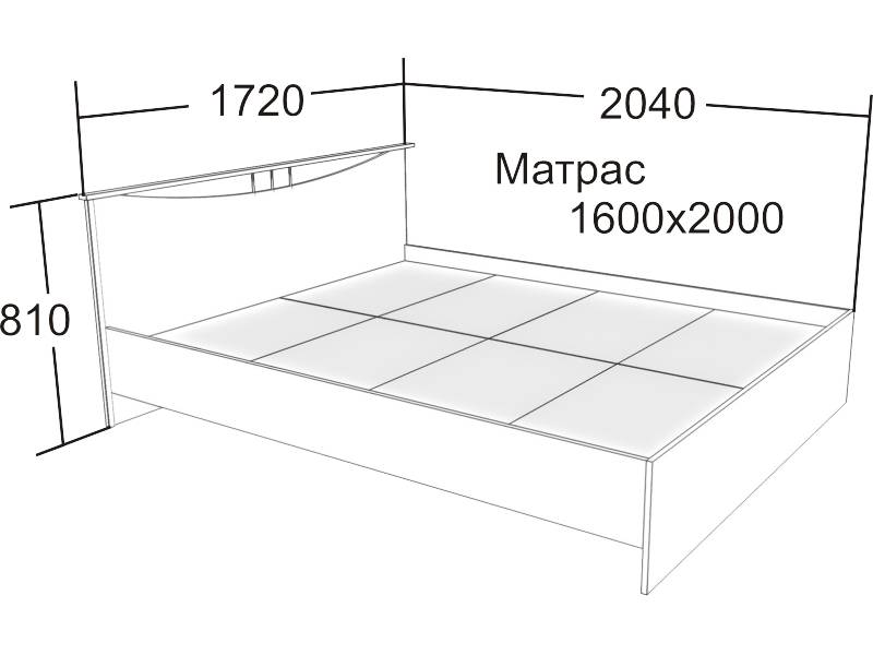 Какие бывают размеры матрасов для взрослой и детской кровати