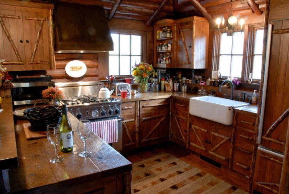 Кухня в деревенском стиле: 44 фото и видео уютного интерьера в своем доме