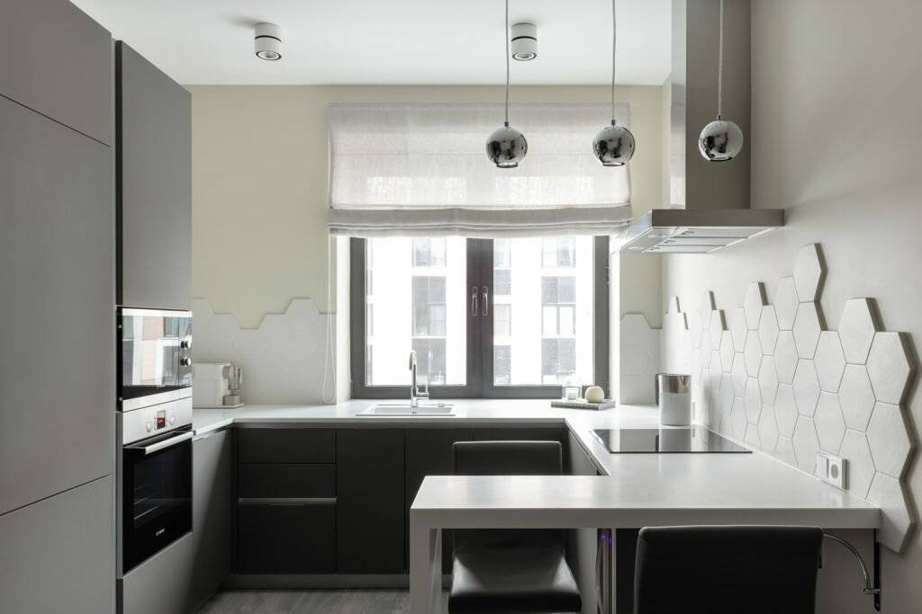 П-образная кухня: 90 фото вариантов использования и особенности выбора дизайна для кухни