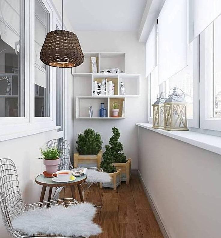 Маленький балкон: стильный, практичный, удобный, оформленый по идеям фото от лучших дизайнеров