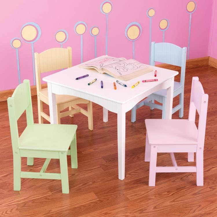 Мастер-класс: детский столик своими руками