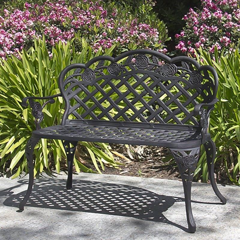 Делаем садовые скамейки своими руками