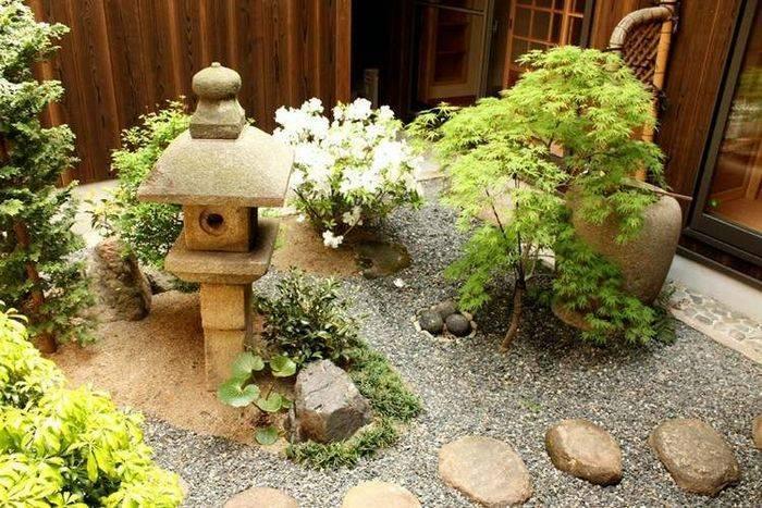Сад камней или рокарий на даче, как сделать своими руками