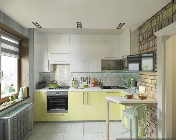 Кухня 4 кв.м: 10 способов обустроить её по максимуму + фото дизайна интерьеров