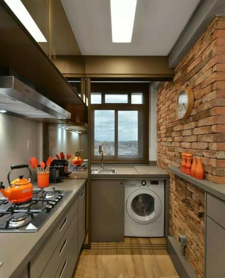 Обустройство дизайна кухни 4 кв. м