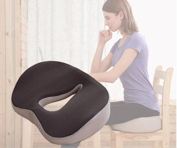 Ортопедическая подушка для сидения: разновидности и правила использования