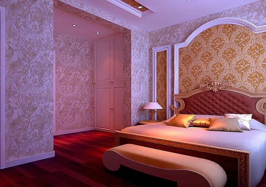 Красивые обои для спальни. 100 лучших дизайнерских решений