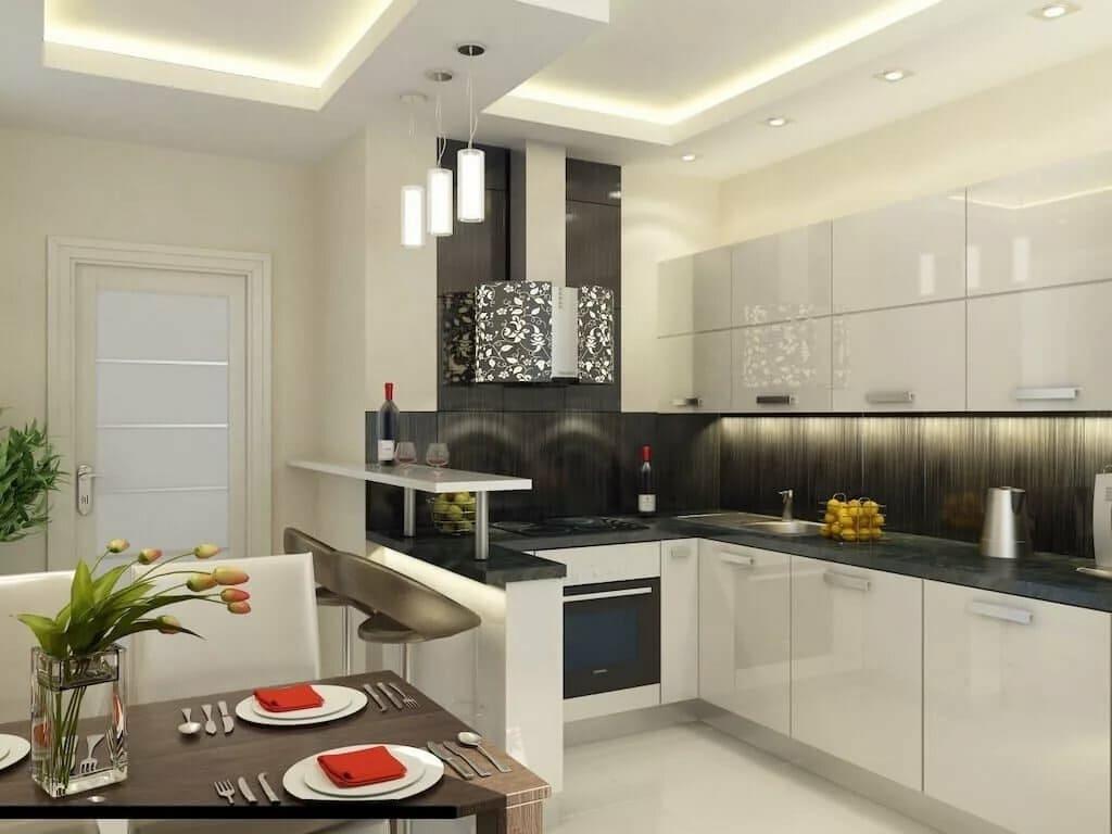 Кухня 10 квадратных метров (71 фото): правила планировки и идеи дизайна. как обставить кухню со спальным местом? интересные примеры