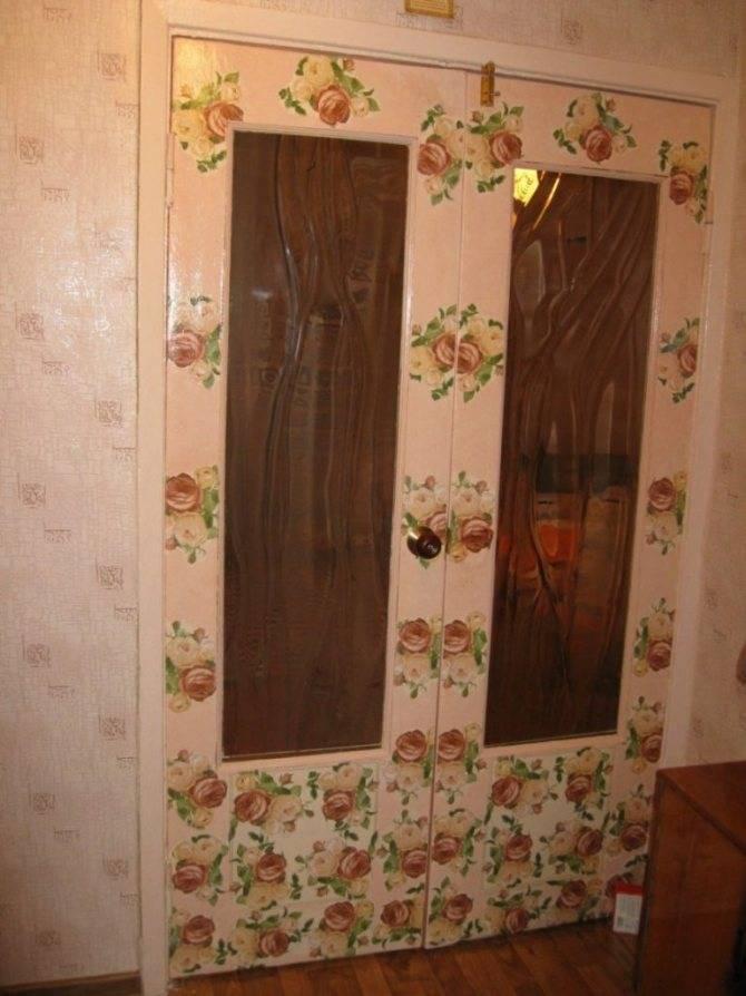 Декор двери своими руками. декорированные двери в интерьере дома